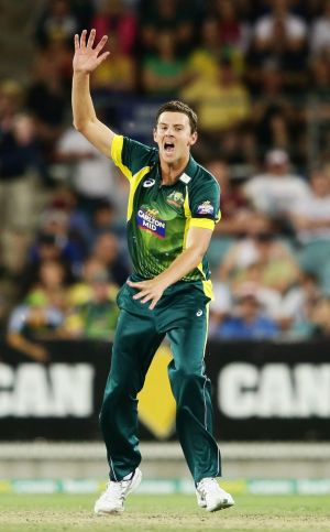 Endorsed: Josh Hazlewood has earned selection for the opening Test against India.