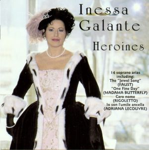 Inessa Galante: On Sunday she may sing a setting of something from After Julia.