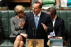 Prime Minister Tony Abbott rejected claims he lied about ABC budget cuts.
