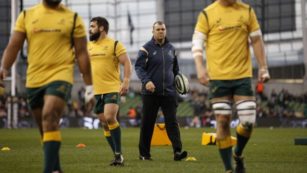 """""""If I'm not holding my nerve then no one's going to"""": Michael Cheika."""