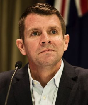 """NSW Premier Mike Baird wants to """"transform the state""""."""