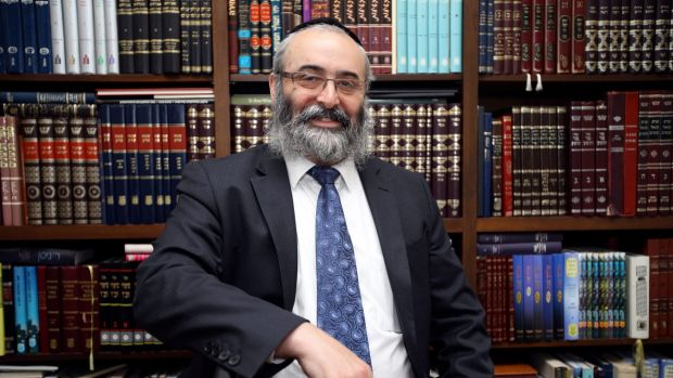 "Rabbi Meir Kluwgant called Zephaniah Waks a ""lunatic"" who was ""guilty of neglect of his own children""."