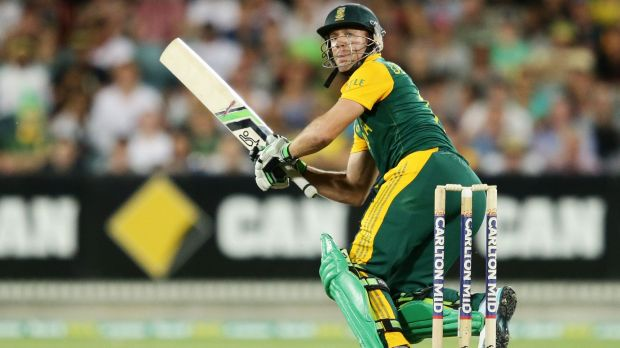AB de Villiers says South Africa will be the team to beat at the World Cup.