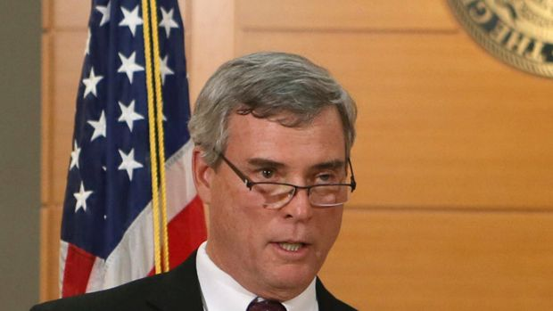 Target of alleged plot ... St Louis County Prosecutor Bob McCulloch who announced the grand jury's decision not to ...