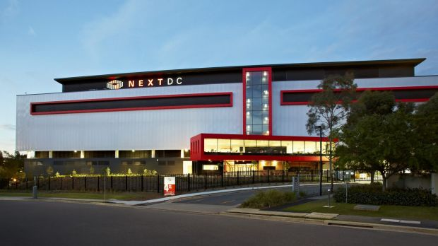 Bullet-resistant: The high-security NEXTDC facility in Sydney.