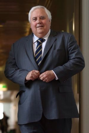Clive Palmer allegedly shifted money from a mining operation to his political party.