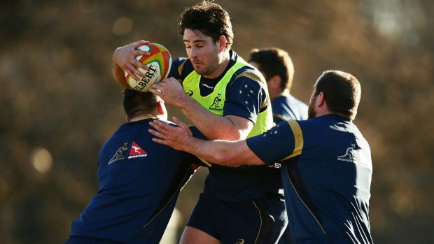 Sam Carter wants to increase his physicality with the Wallabies.