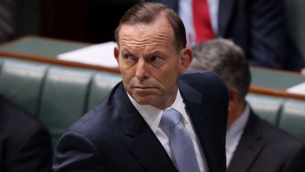"""Prime Minister Tony Abbott in question time on Wednesday: """"[Senator Johnston] said the wrong thing in the heat of the ..."""