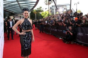 Katy Perry arrives at the 2014 ARIA Awards.