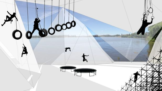 Ropes courses, obstacle courses and indoor climbing would be some of the activities on offer at ACTivate.