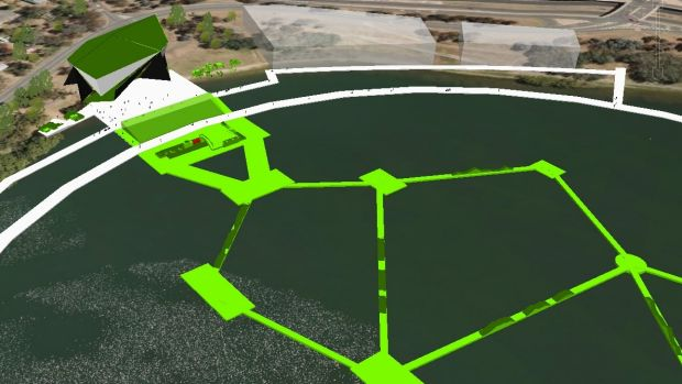 ACTivate could include BMX tracks across Lake Burley Griffin.