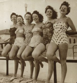 Bikinis from the 1950s.
