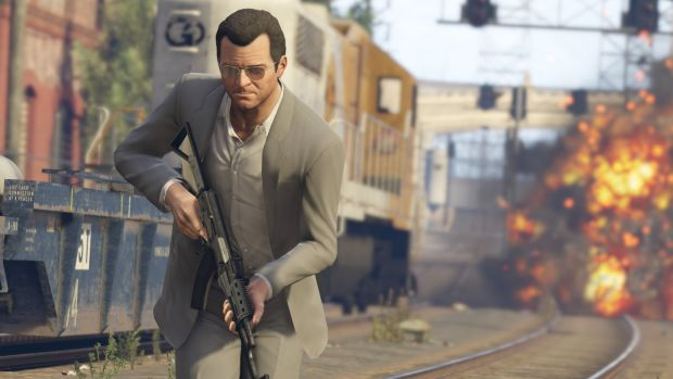 Critically acclaimed <i>Grand Theft Auto V</i> continues to do well for Take-Two.