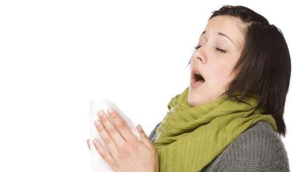 Sneeze face: Sneezing is an involuntary response, and it's nearly impossible to hold one back.