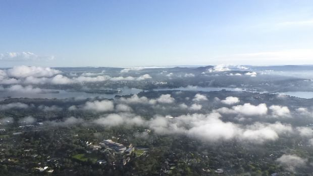 Canberra's summer temperatures have been 1.1 degrees above the average.