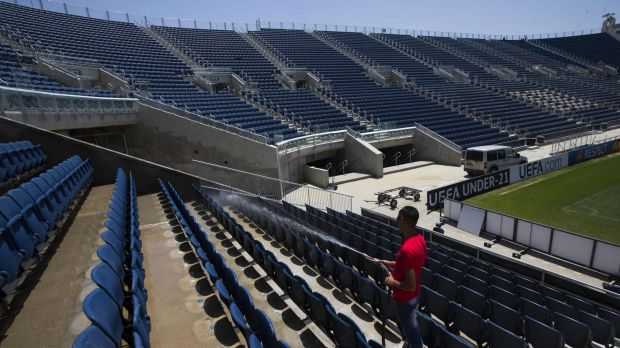 Teddy Kollek Stadium in Jerusalem is said to be the target of the attack.