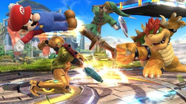 Smartphone-bound: Favourite Nintendo characters, seen here in <i>Super Smash Bros. for Wii U</i>, will soon appear in ...