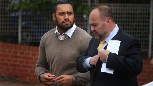 Zane Tetevano pleaded guilty to eight charges in the Newcastle Local Court.