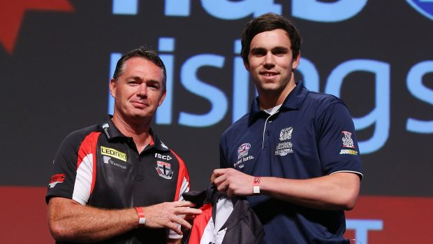 Paddy McCartin could be in line for NAB Challenge game-time says Alan Richardson.