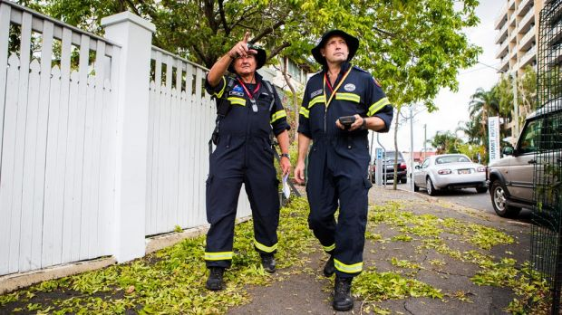Toowoomba tation officers Stewart Lange and Kerry Weir