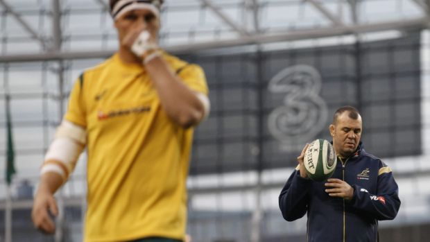 """We just want to show that we care in any small way we can"": Michael Cheika."