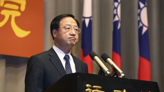 Taiwan's Premier Jiang Yi-huah announces he will step down after his ruling Nationalist Party was heavily defeated in ...