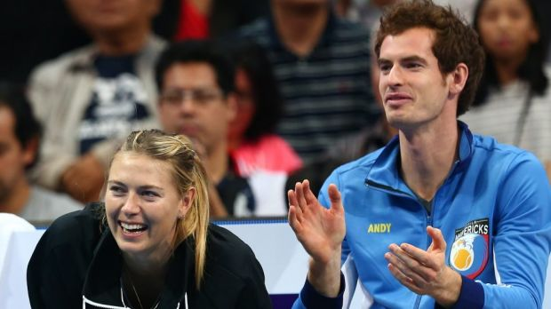 Disappointed: Andy Murray on Head's decision to stick by Maria Sharapova.