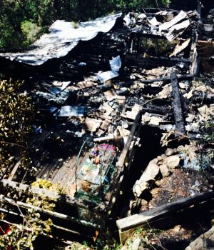 Les Wasley and his daughter Lindy died in the blaze that obliterated their house.