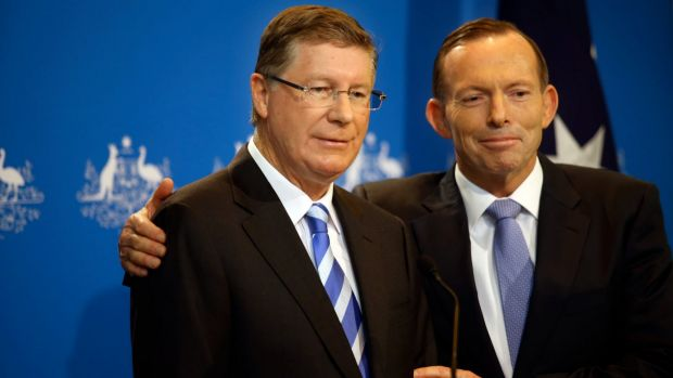 Was Tony Abbott's touch toxic for Denis Napthine's Coalition in the Victorian election?