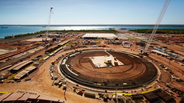 Analysts  forecast UGL will take a loss in fiscal 2015 because of write-downs on its Ichthys project in Darwin.