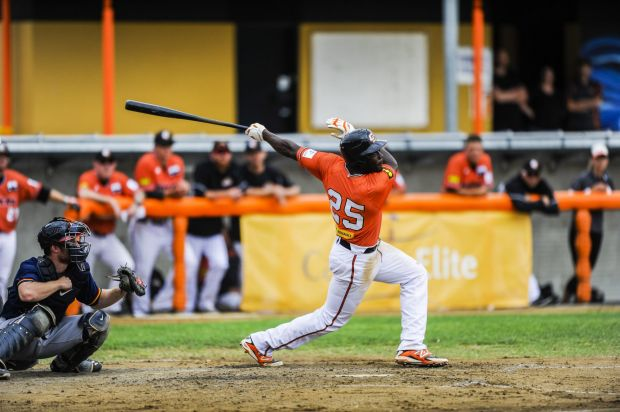 Canberra Cavalry's Anthony Alford.