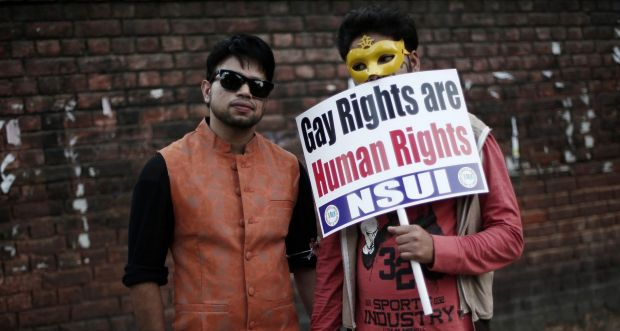 Delhi's Queer Pride Parade called for equal rights for India's gay, lesbian, bisexual and transgender citizens.