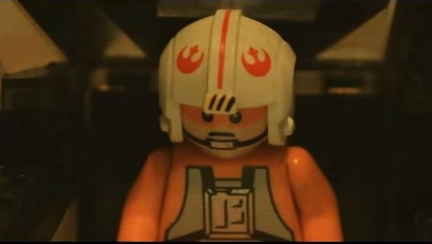 <i>Star Wars VII: The Force Awakens</i> trailer has been remade in Lego.