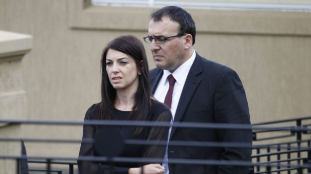 Veronica and Anthony Ghalloub.