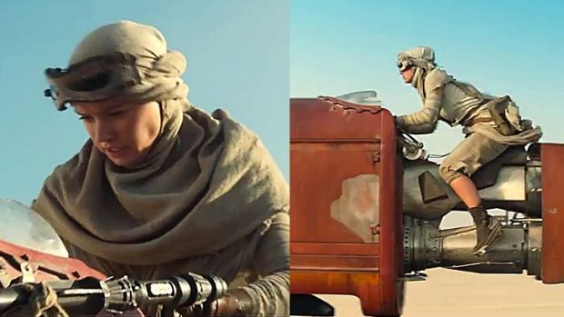Spot the difference: the trailer shows out of sync shots.
