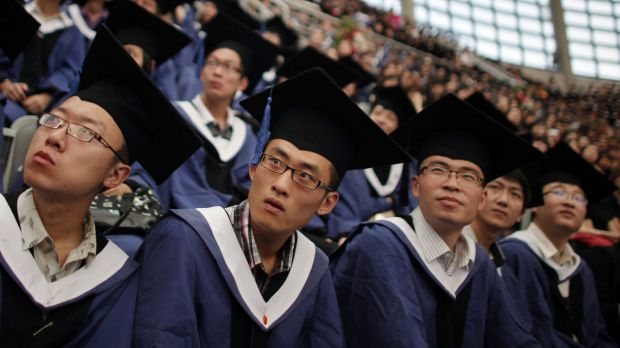 In 2016, a record 540,000 Chinese students went abroad for study, with most saying they wanted to expand their ...