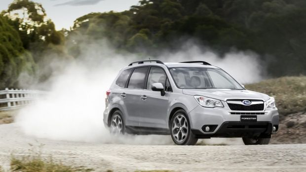 Mandarin mobile: A Subaru Forester, the car of choice among ACT executives (though they prefer white, not silver as ...
