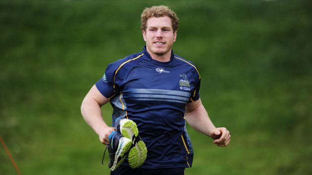 David Pocock during Brumbies training last week.