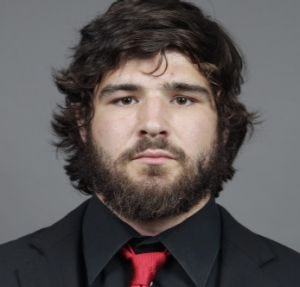 Tragic end: Ohio State University football player Kosta Karageorge, 22, had suffered numerous concussions before he went ...