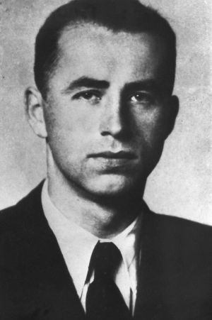 """Fugitive from justice: Nazi war criminal Alois Brunner is """"almost certain"""" to have died."""