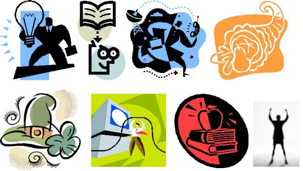 Goodbye Microsoft Clip Art, it's a shame we never figured out what you were trying to communicate.