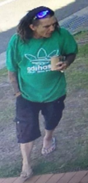 Man wanted over theft of dog at Palm Beach.
