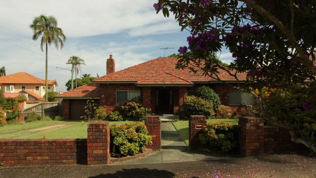 The house in Jeanneret Avenue, Hunters Hill, previously owned by Gwenda Obeid, wife of Gerard Obeid.