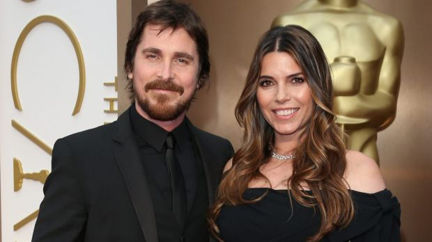 Chilled: Christian Bale and his wife Sibi Blazic, who was harangued by the paparazzi in Italy.
