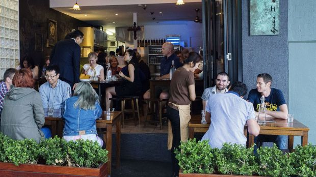 Popular spot: Spice I Am's no-frills atmosphere draws a crowd.