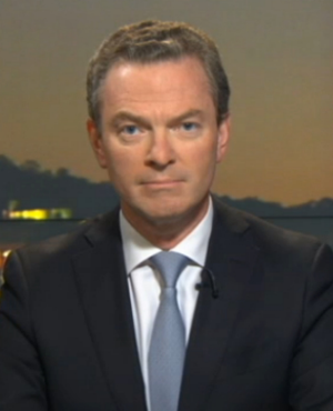 Christopher Pyne appears on 7.30.