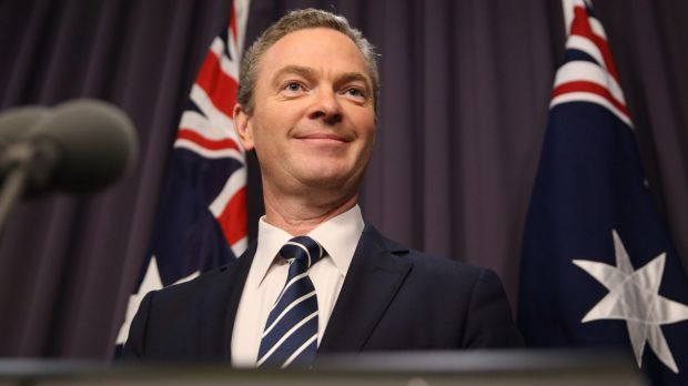 "Education Minister Christopher Pyne has been described as a ""masterful salesman"" despite the collapse of university reforms."