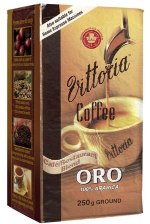 """That's gold: The distributors of Vittoria coffee can trademark the word """"oro""""."""