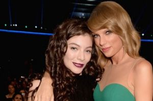 Lorde is part of Taylor Swift's squadron of girlfriends.