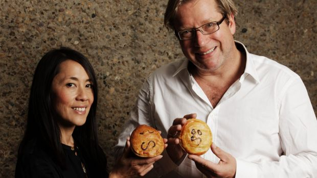 Pie Face founders Betty Fong and Wayne Homschek.